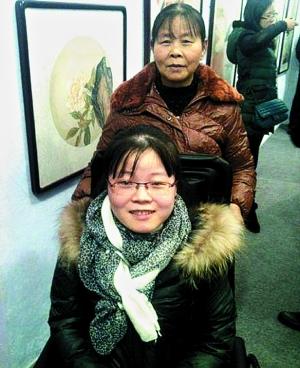 汪玉婷与母亲